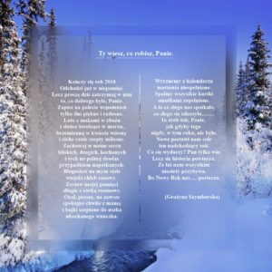 wiersz na zakończenie roku