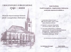 zaproszenie 260 lat  2