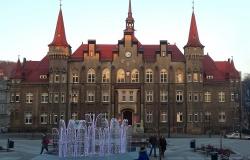 Ratusz w Wałbrzychu z dn. 09.12.2014 r.